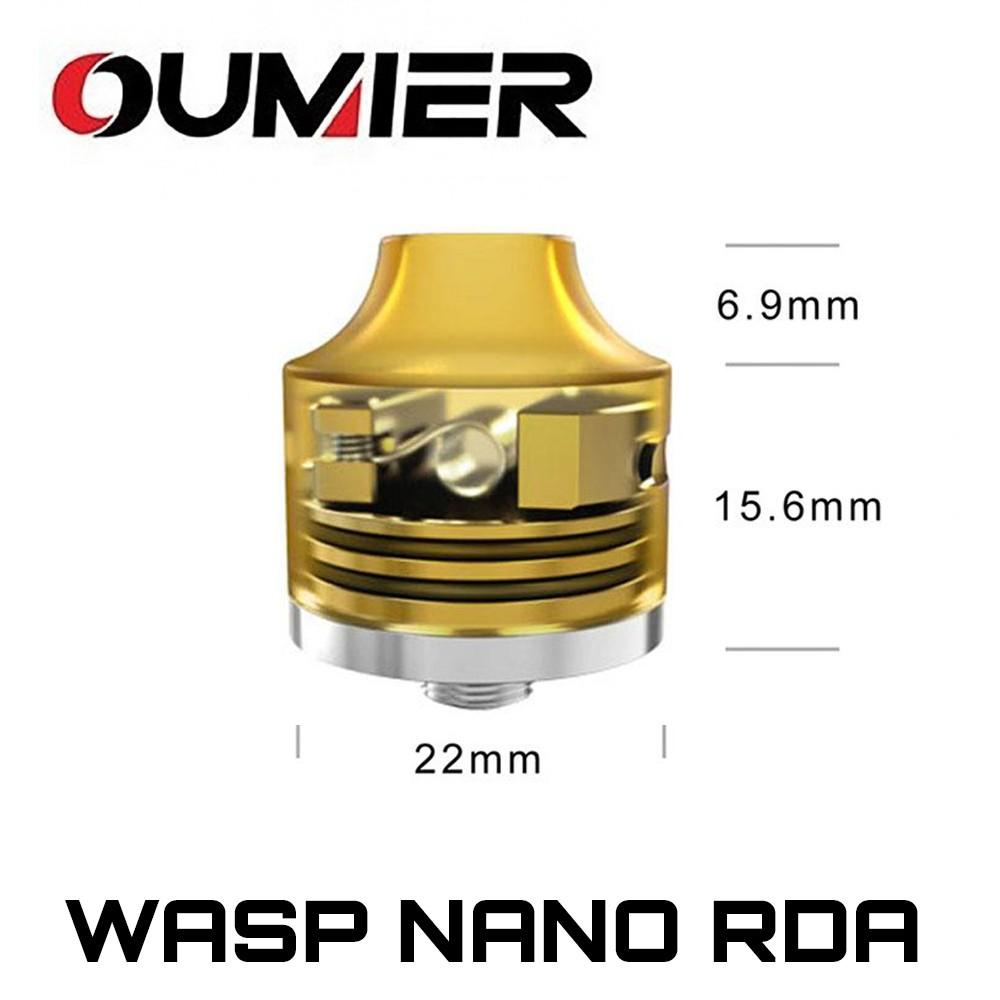 Oumier Wasp Nano BF RDA Dimensions