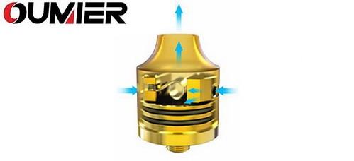 Oumier Wasp Nano BF RDA Airflow