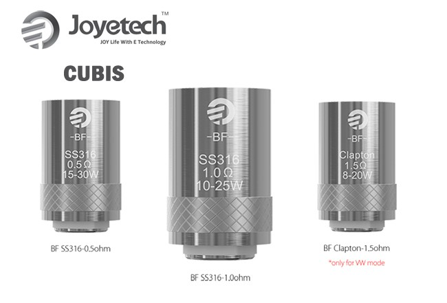 Cubis BF coils